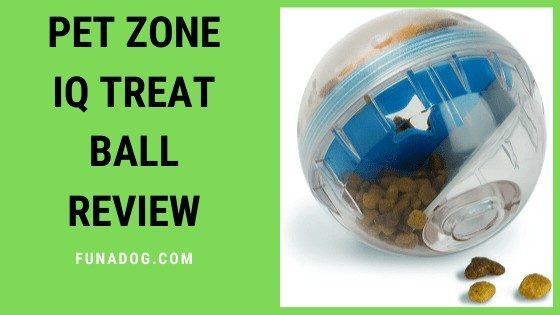 Pet Zone IQ Treat Ball Review : Fun Puzzle Toy For Your Dog
