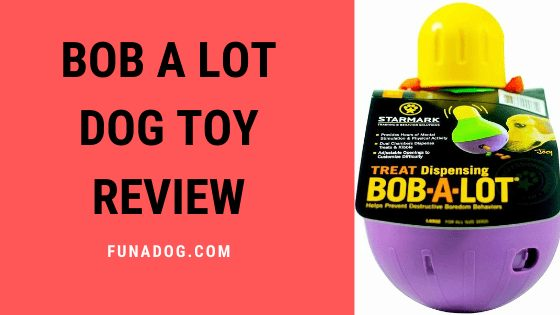 Bob A Lot Dog Toy Review : Treat Dispensing From Starmark